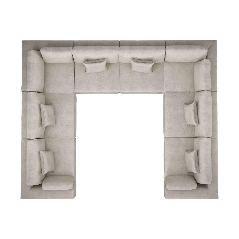 Perry Preconfigured U Sectional Sofa