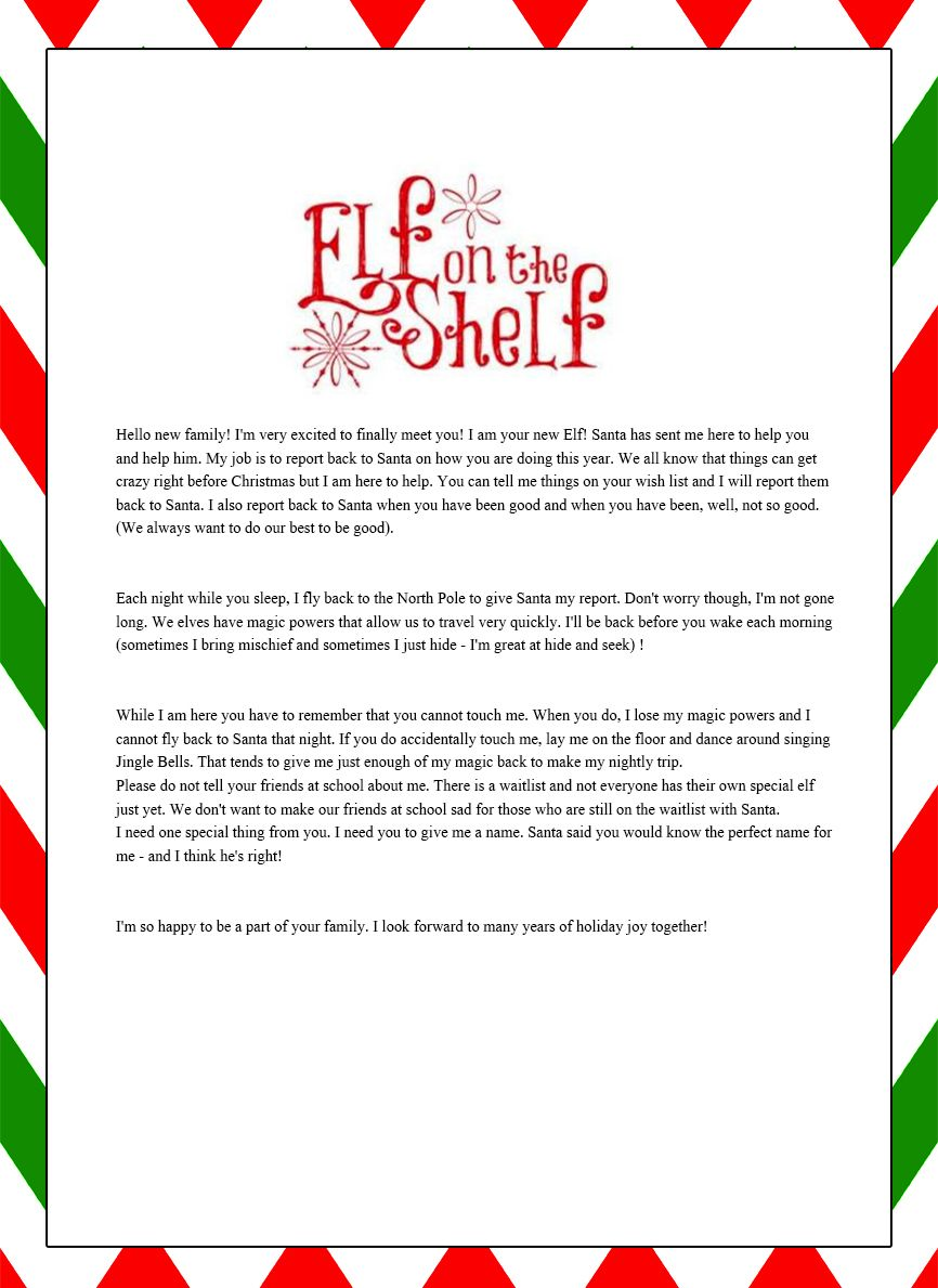 elf on the shelf funny naughty letters Google Search