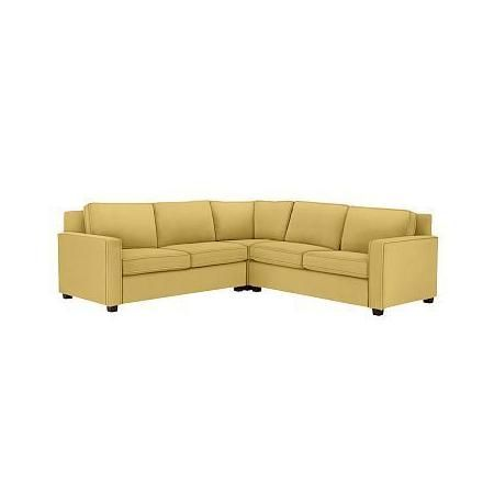 Yellow Corner sofa Bed