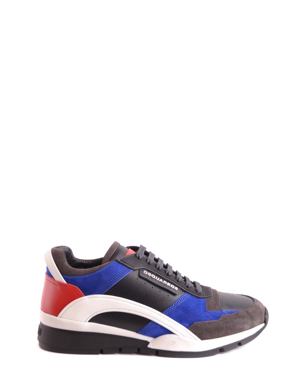 DSQUARED2 Leather SneakersShoes SneakersFashion StoresDsquared2MenFlatsFashion ShopsSneakers