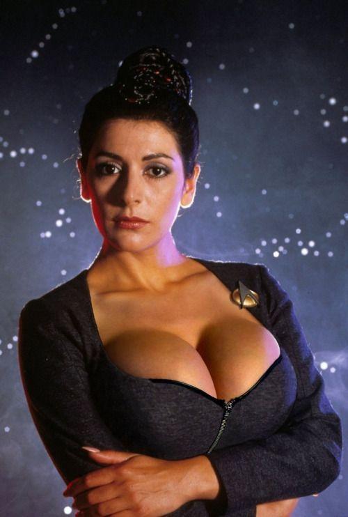 hot Marina sirtis