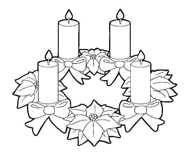 Dibujos Y Juegos Navidad Ideas Para Pintar Corona De Navidad Para Pintar Y Col Corona De Adviento Dibujo Corona De Adviento Paginas Para Colorear De Navidad