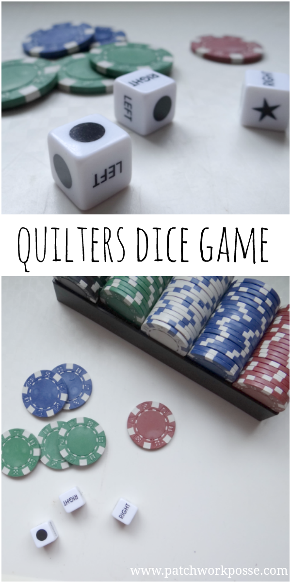 The Quilters Dice Game Quilt guild programs, Quilt club