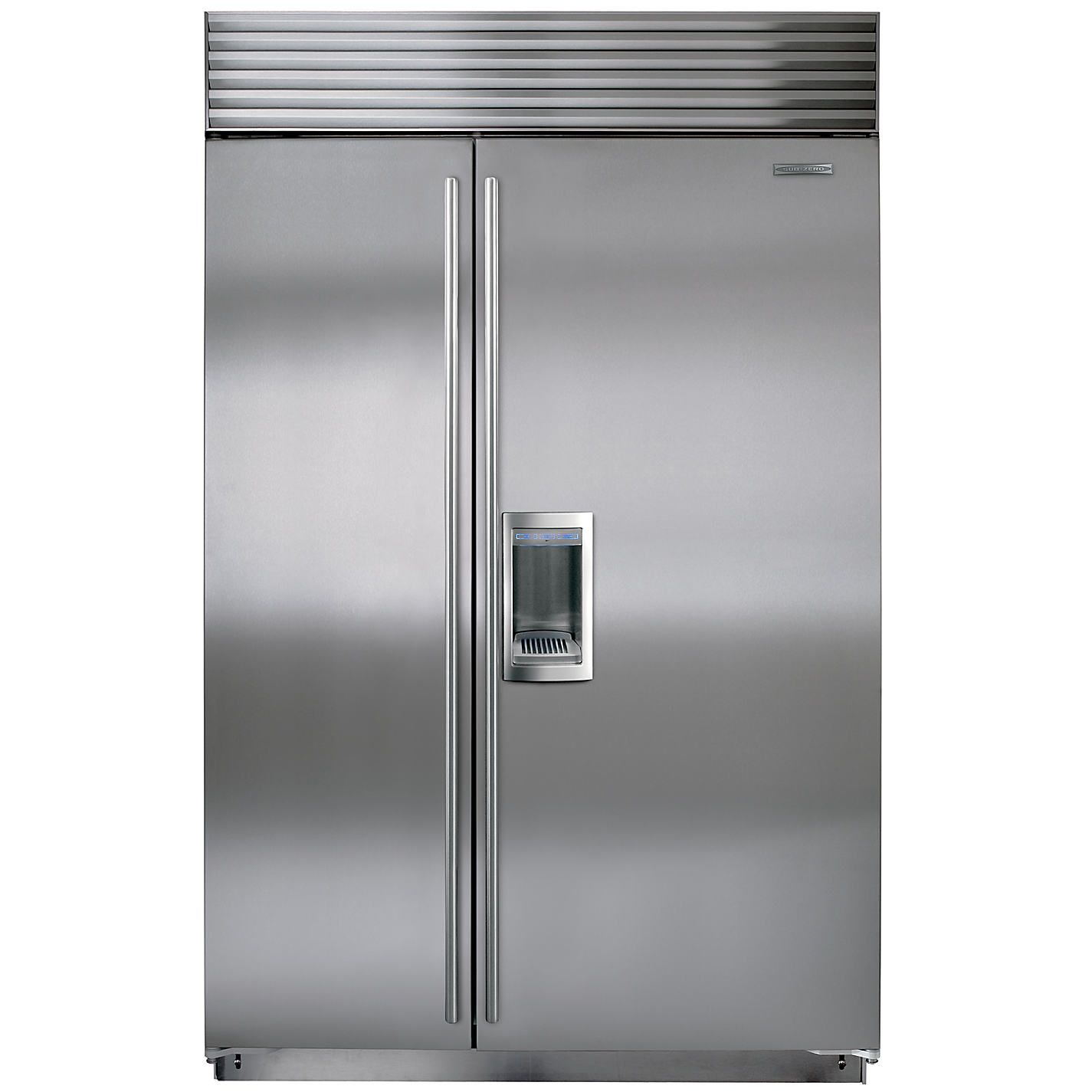 This Is A Sub Zero Brand Refrigerator Freezer Combo With A Dispenser We Perform Repair Service As Well Built In Refrigerator Sub Zero Built In Refrigerators