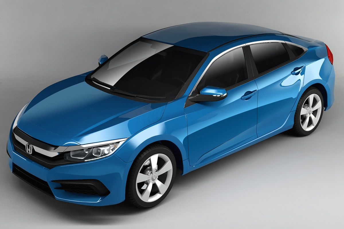 New Price Release 2016 Honda Civic Review Front View Model