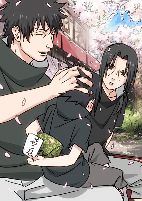 Shisui Itachi And Little Sasuke Uchiha Naruto Anime Naruto Itachi Uchiha Anime