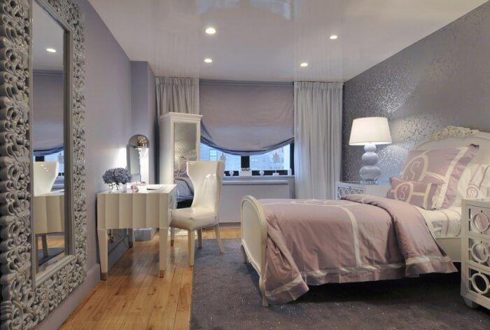 Wonderful Chambre Gris Et Rose Deco Chambre A Coucher Chambre
