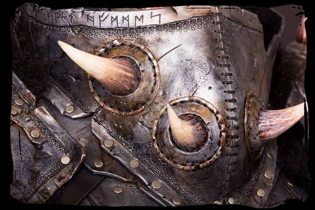 Orc leather armor close up 1 by Lagueuse on DeviantArt