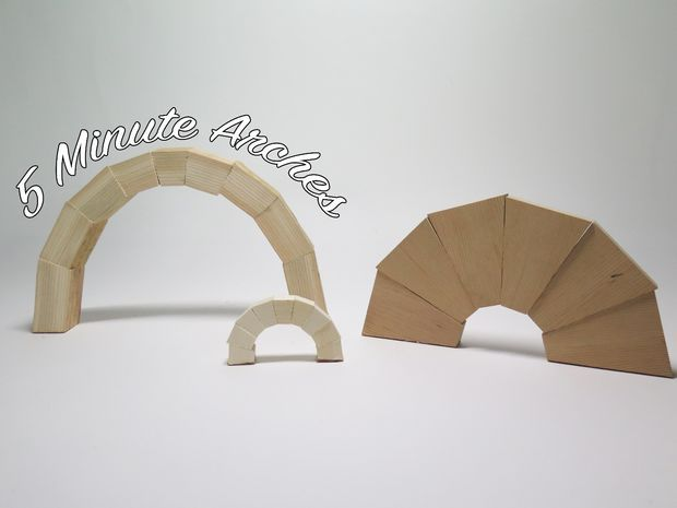 Build your own in under 5 minutes, out of a single board of wood.