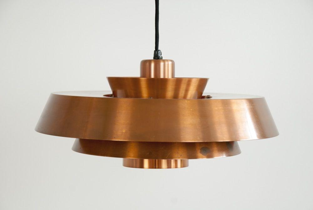 Pendant lamp 'Nova' by Jo Hammerborg, Fog & Mørup, Denmark, 1950s available on CLASSIQS – www.classiqs.com