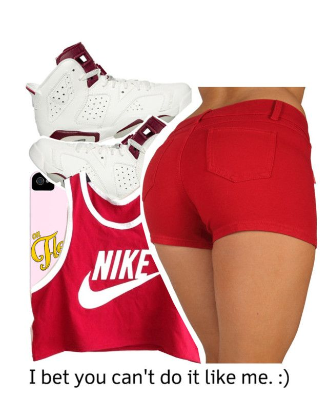 """""""Effortless......"""" by alondrauribe ❤ liked on Polyvore featuring NIKE, women's clothing, women's fashion, women, female, woman, misses and juniors"""