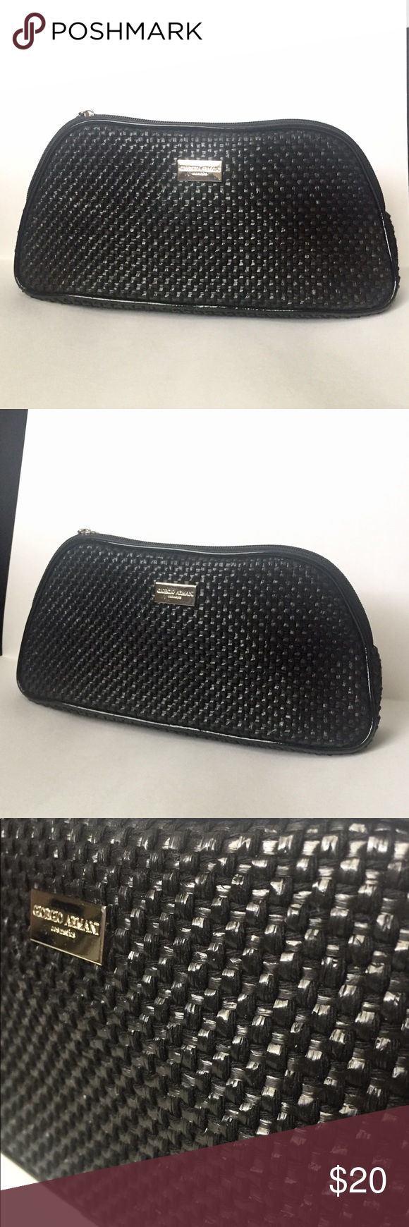 debda88c8760 Giorgio Armani Cosmetics Bag Beautiful texture. Small and lively Could use  as a clutch too Giorgio Armani Bags Cosmetic Bags   Cases