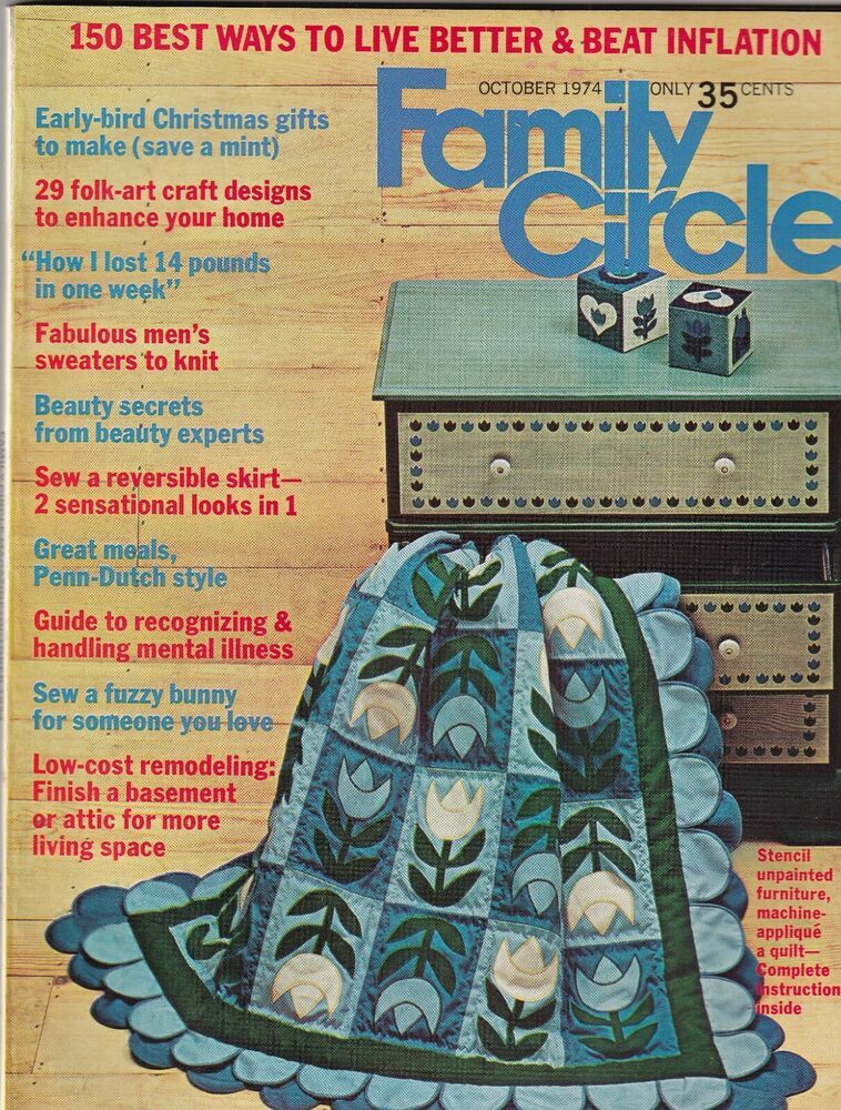 Family Circle Mag Early Bird Christmas Gifts To Make October 1974 092719nonr