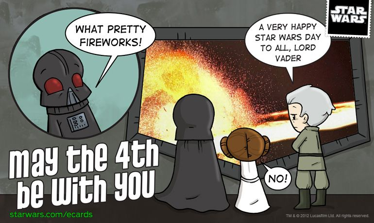 Send Some Katie Approved Star Wars E Cards With Images Happy