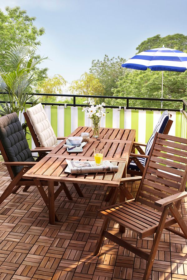 Eat out whenever you want with our range of outdoor dining