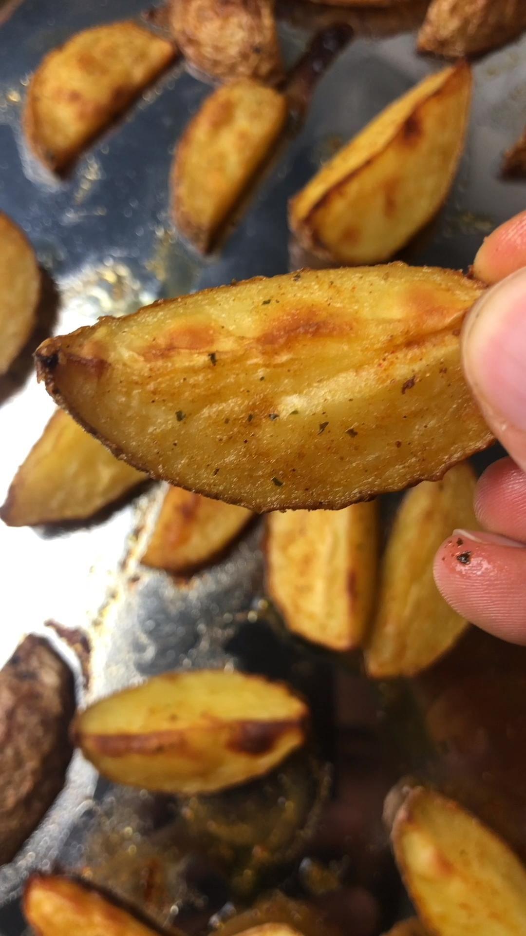 Potato Wedges selber machen