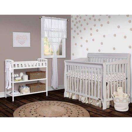 Buy Dream On Me Ashton Convertible 5in1 Crib Mystic Grey at