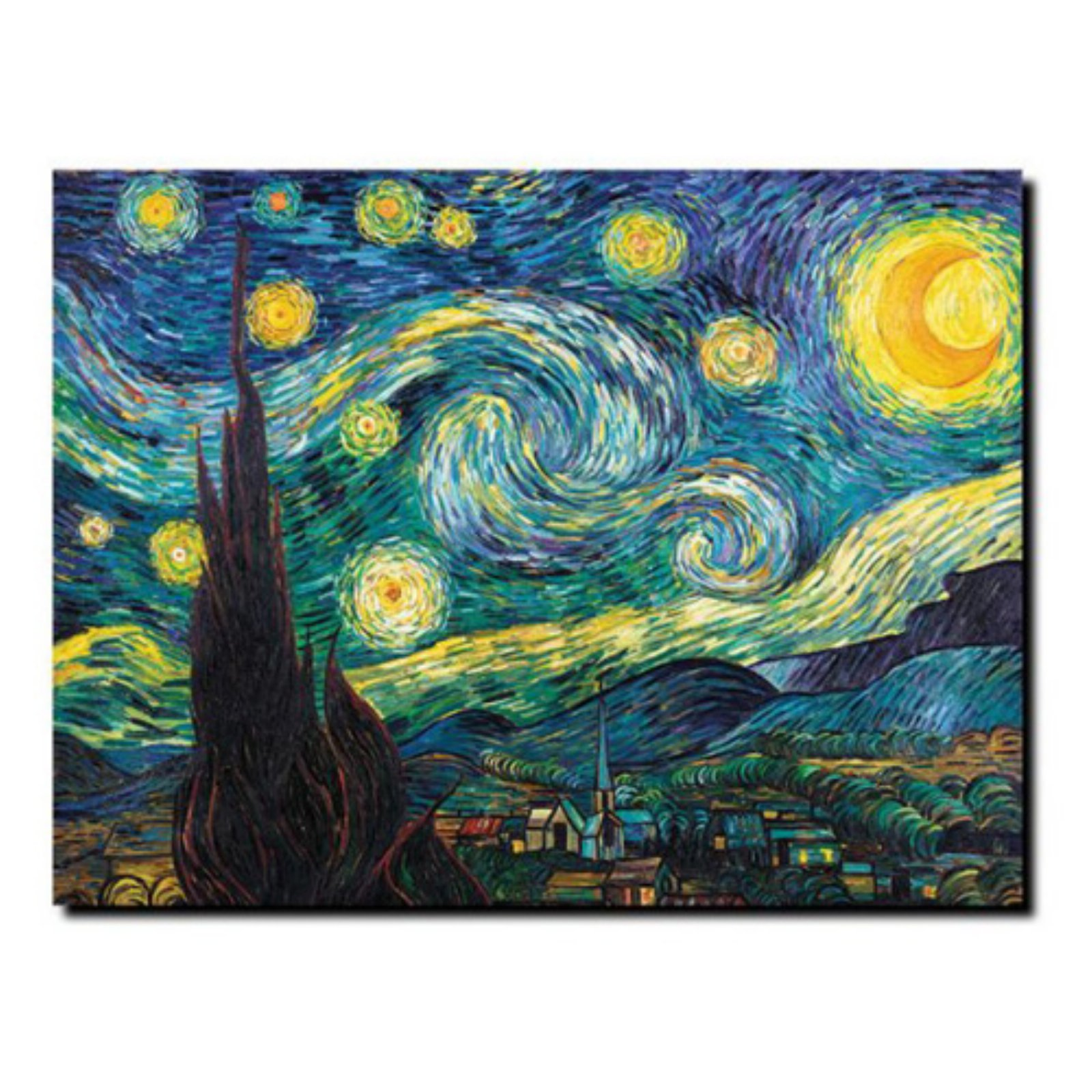 Starry Night Wall Art By Vincent Van Gogh Starry Night Van Gogh Vincent Van Gogh Van Gogh