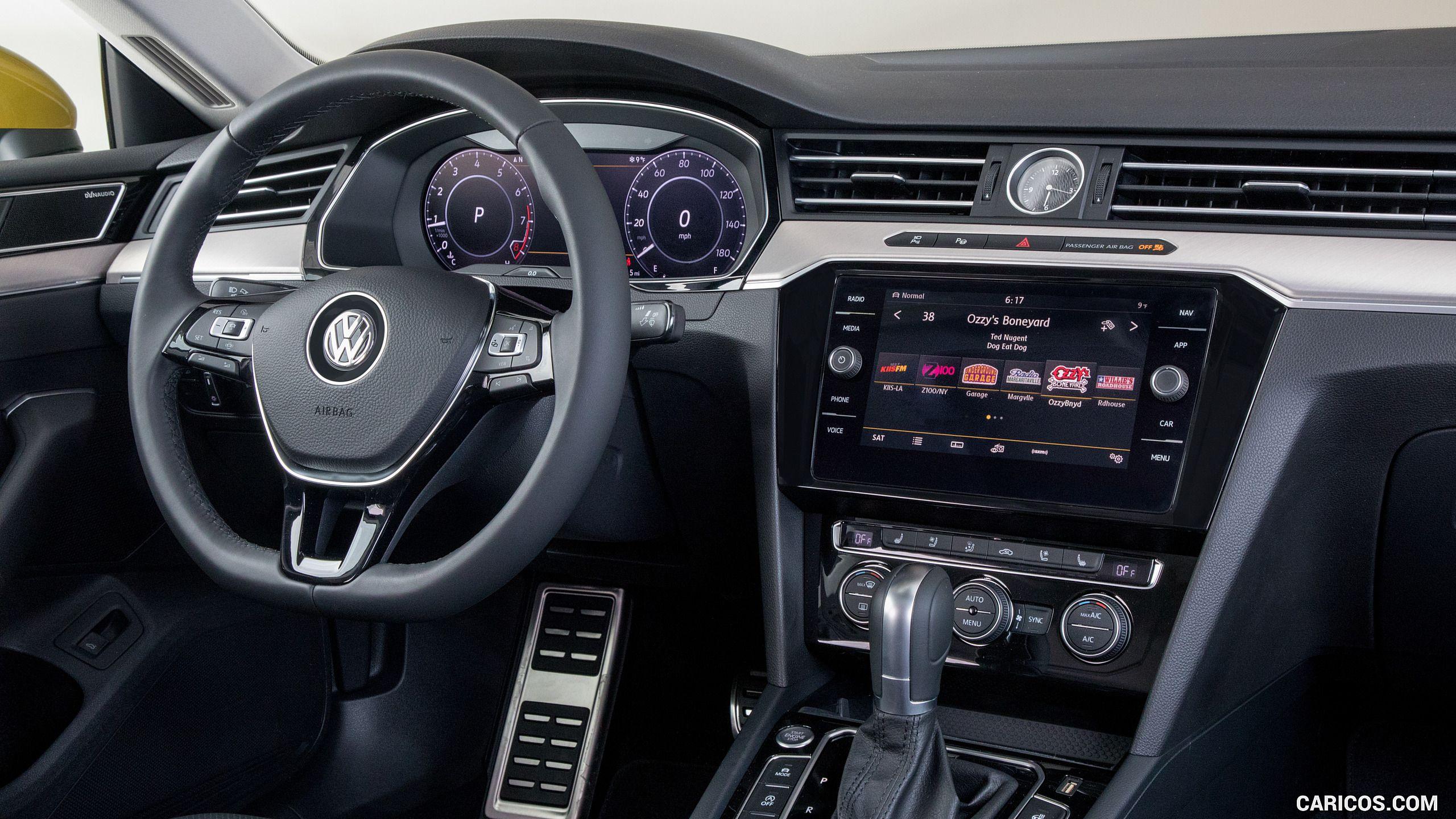 2019 Volkswagen Arteon Us Spec Interior Hd Volkswagen Cc Volkswagen Car Volkswagen