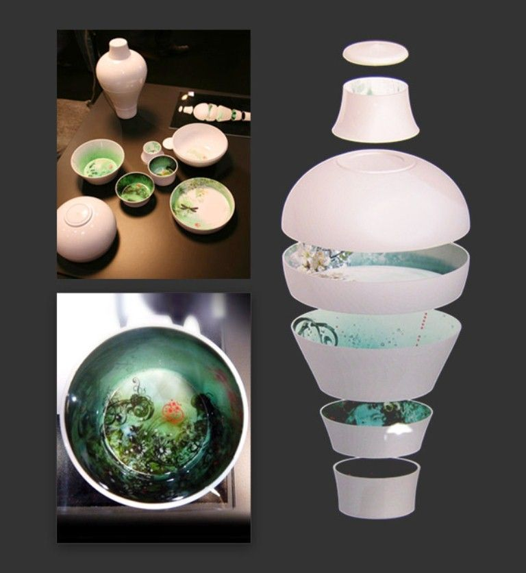 Ming vase/melamine tableware by Ibride | Products I love | Pinterest ...