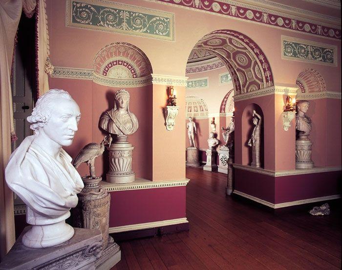 Robert Adams Interiors | Newby Hall Was Designed By Robert Adams Under ... |
