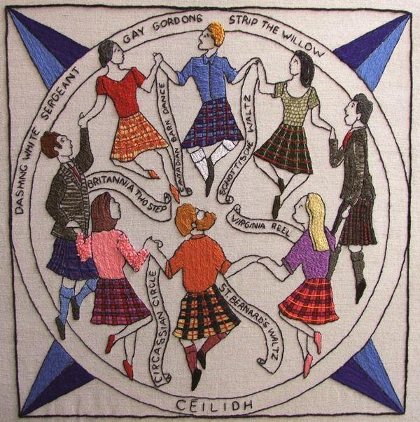 GE11 - Ceilidh Dancing - The Scottish Diaspora Tapestry