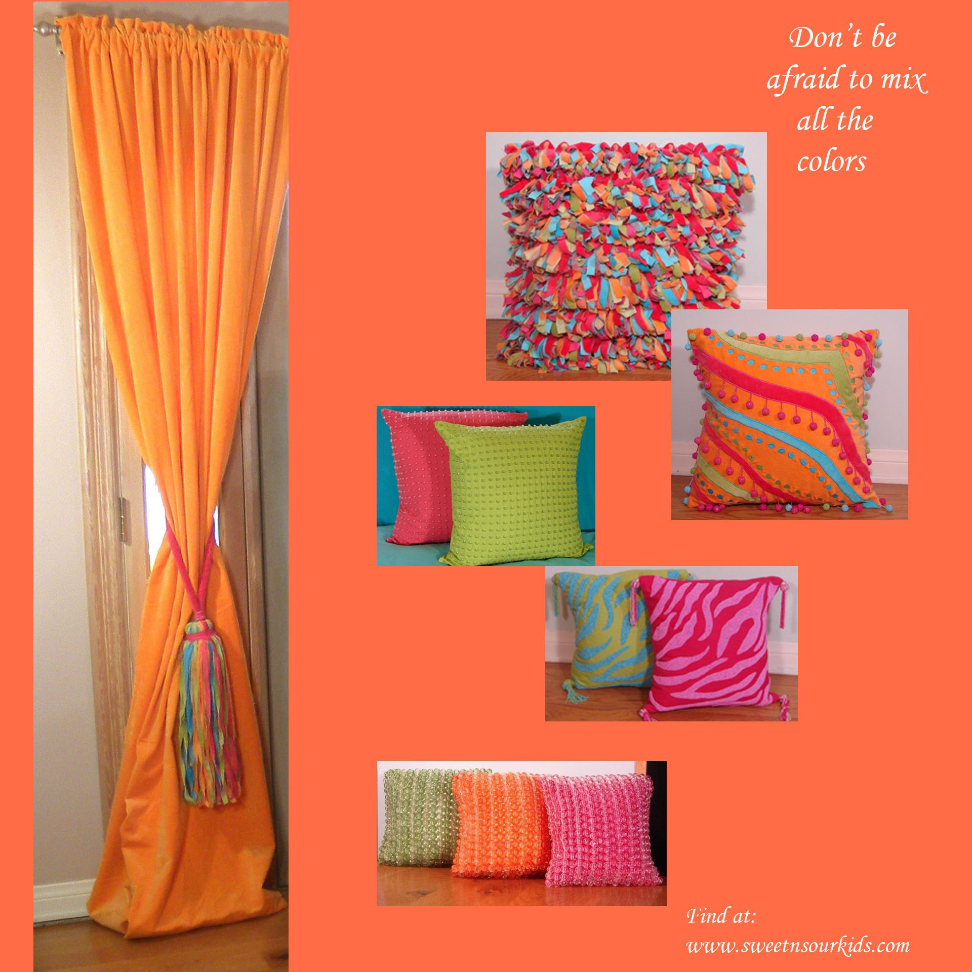 Sweet Bedroom Ideas: Bright Colors For Teen Bedrooms