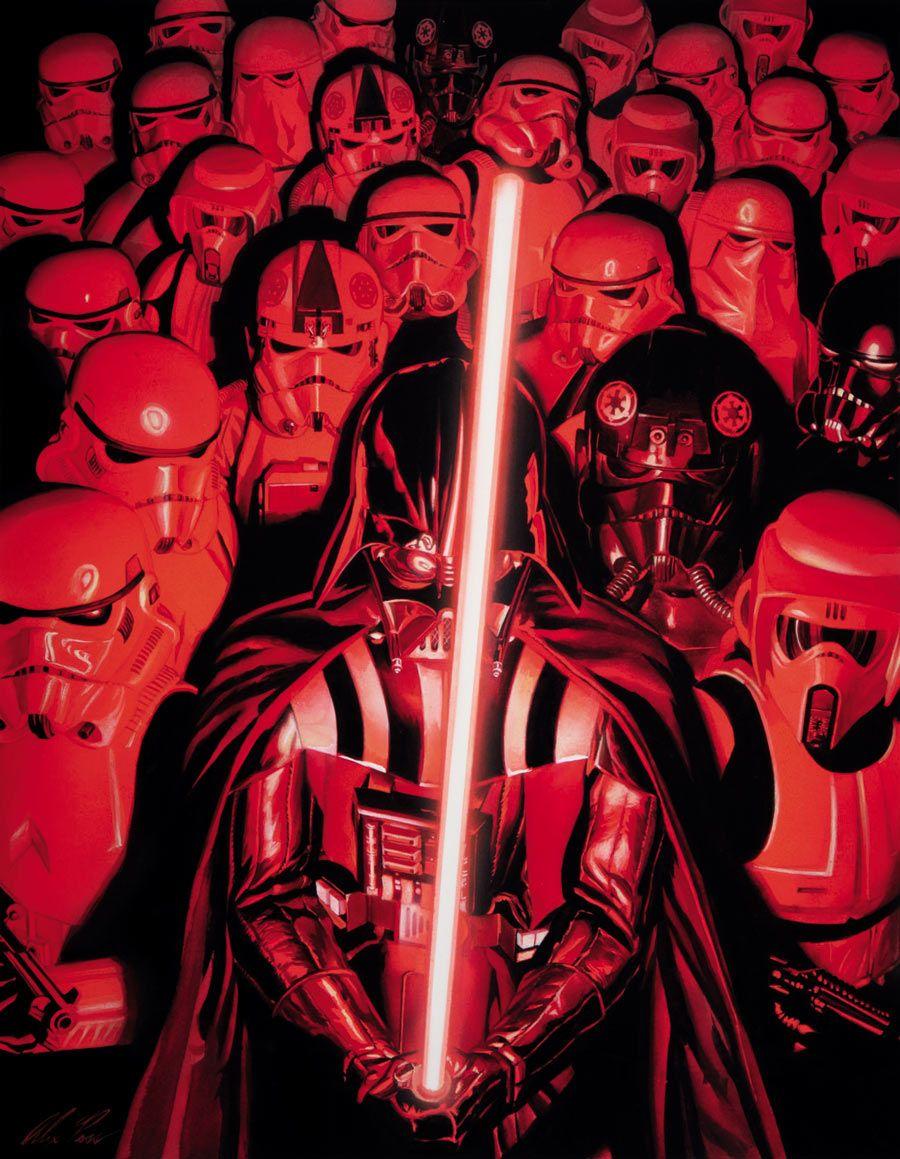 Vader And His Troops Star Wars Geek Star Wars Awesome Star Wars Artwork