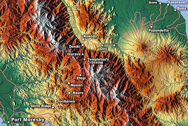 Topographic map of kokoda source maps for free writing topographic map of kokoda source maps for free gumiabroncs Images