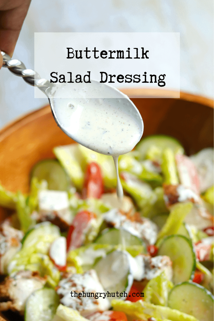 Buttermilk Salad Dressing Recipe Recipe In 2020 Buttermilk Salad Dressing Salad Dressing Recipes Yummy Salad Recipes