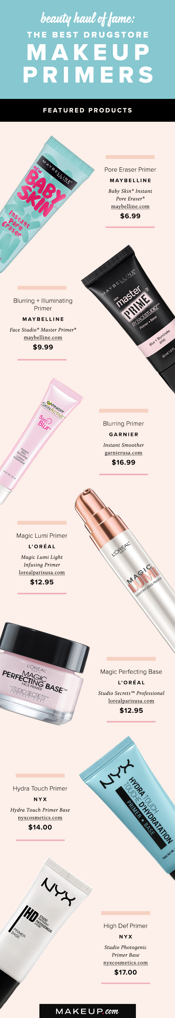 Best Affordable, Drugstore Primers Best drugstore makeup