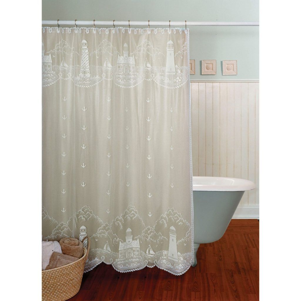 Home Outfitters Fabric Shower Curtains