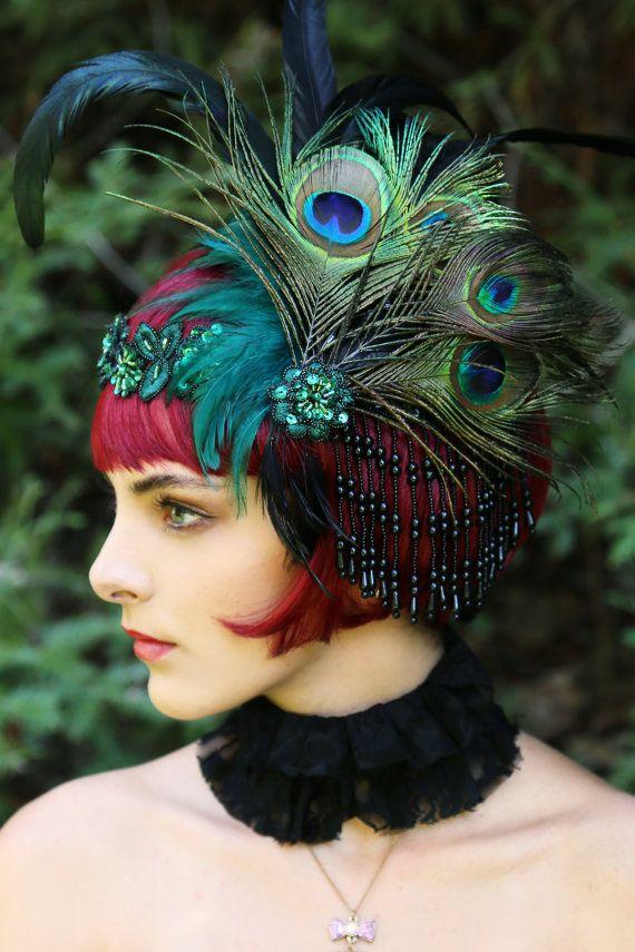 Perruque de clapet / Great Gatsby Wig / perruque par