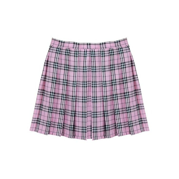 Plaid pleated skirt, Pleated skirts and Plaid on Pinterest