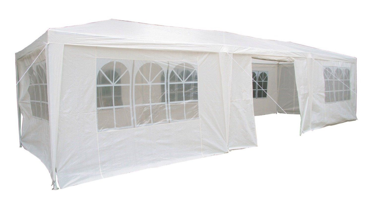 Airwave 3 x Party Tent Gazebo Marquee with 3 x Unique WindBars and Side Panels Waterproof Canopy White  sc 1 st  Pinterest & Airwave 3 x 9m Party Tent Gazebo Marquee with 3 x Unique WindBars ...