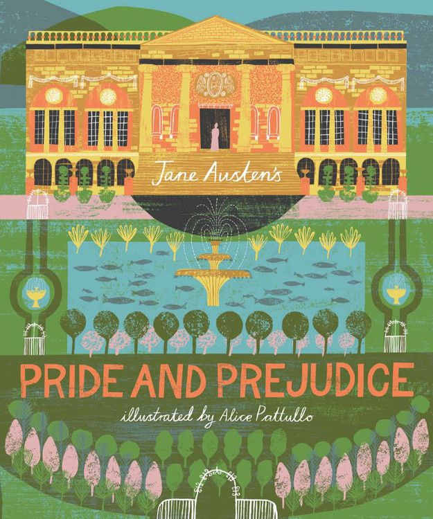 Alice Pattullo illustrated  Pride and Prejudice