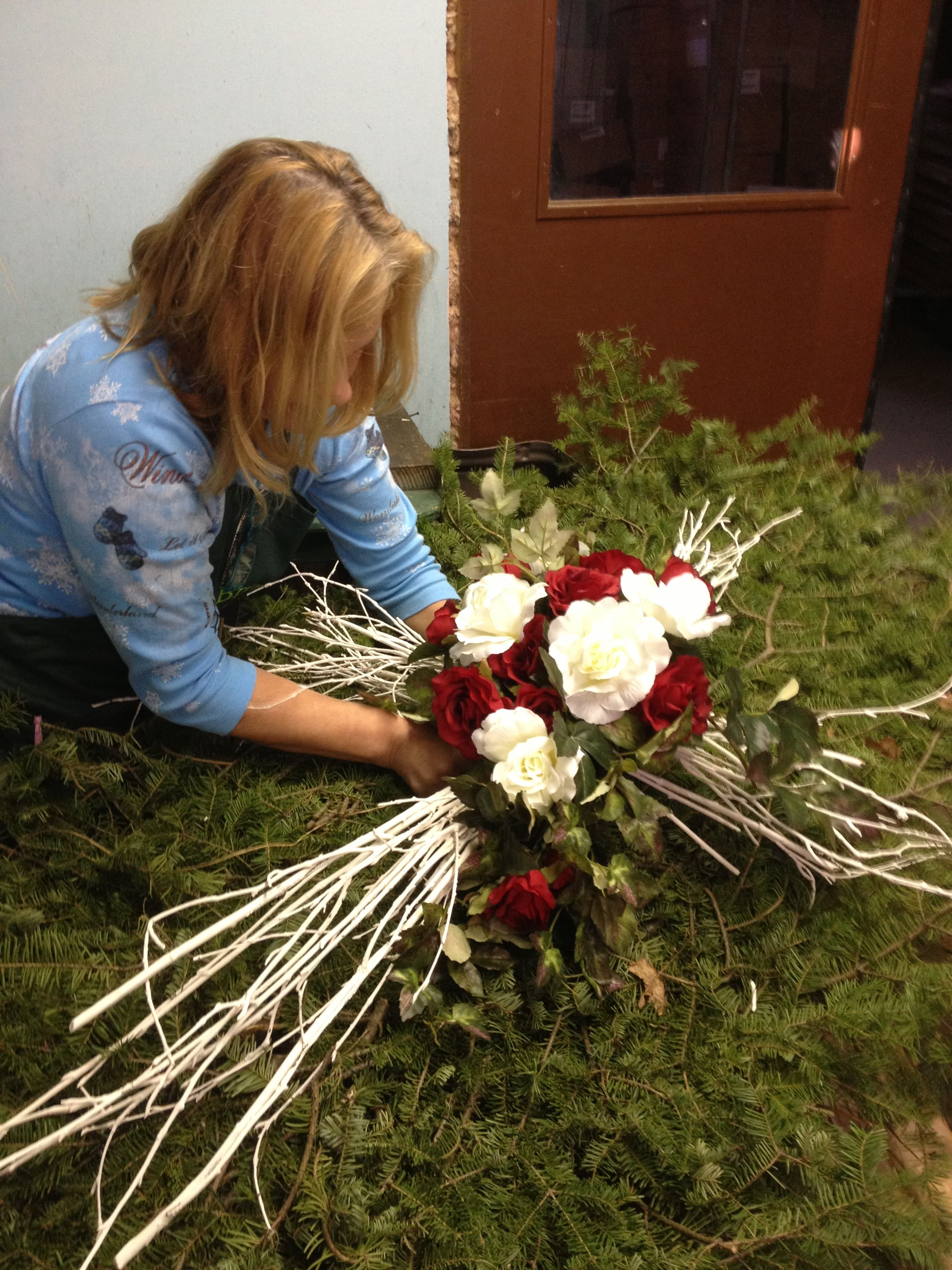 Fibre optic christmas flowers and xmas flowers - Find This Pin And More On Funeral