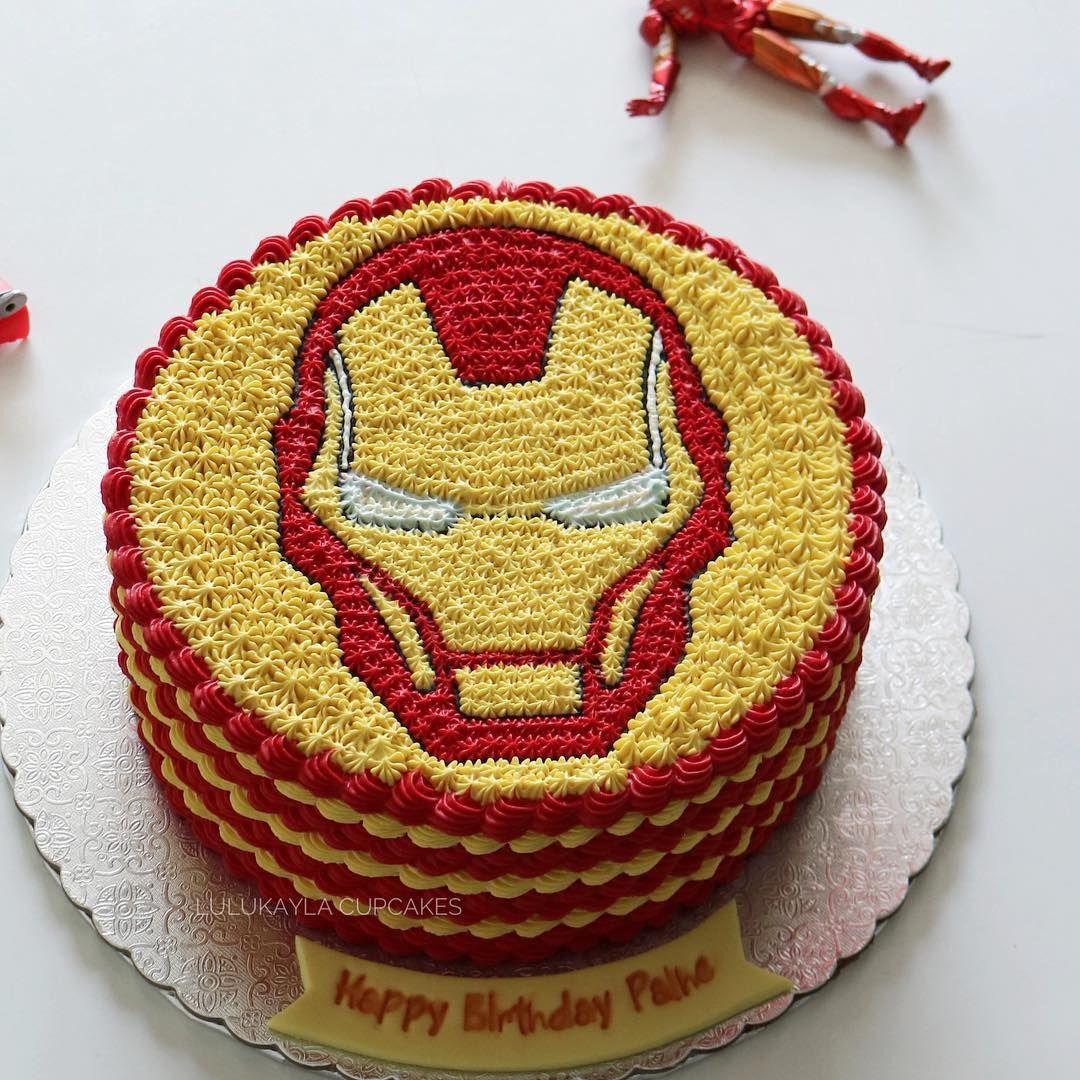Cakes Cake Ironmanlk Ironman Buttercreamcake Birthdaycake