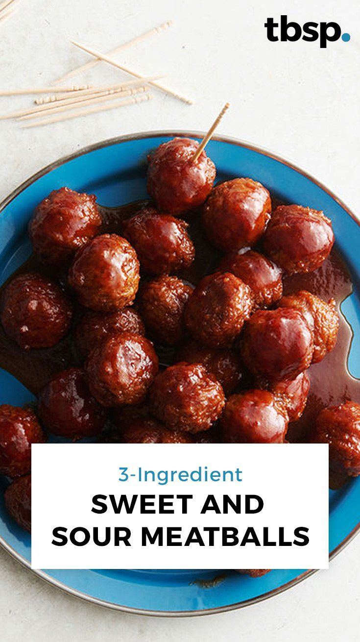 Photo of 3-Ingredient Sweet and Sour Meatballs