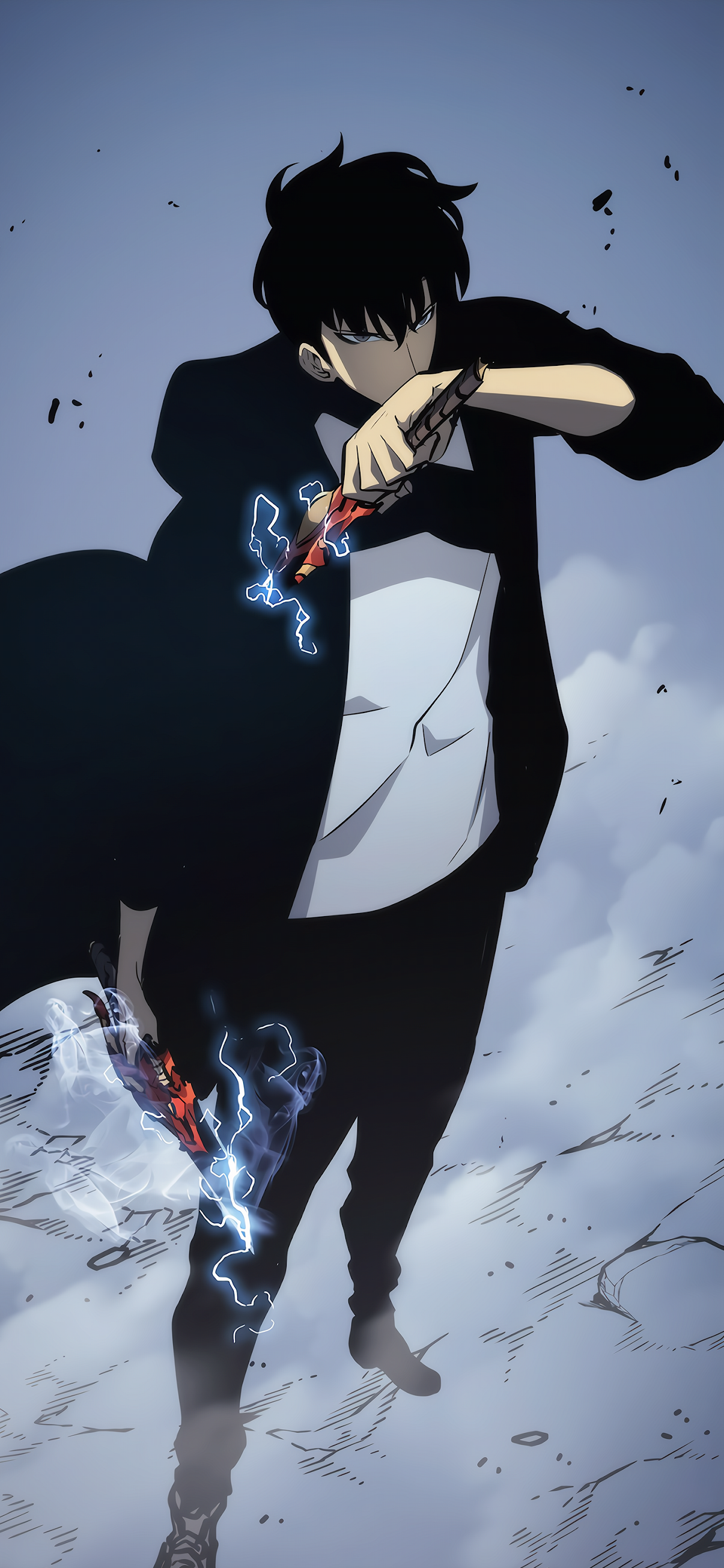 Solo Leveling Mobile Wallpaper Anime In 2020 Anime Character Drawing Anime Dark Anime