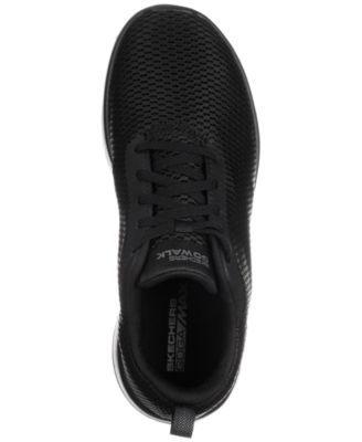 305e3e0b56c4 Skechers Women s GOwalk Joy - Paradise Casual Walking Sneakers from Finish  Line - Black 6.5
