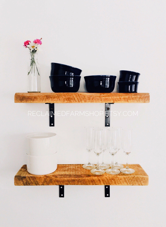 Groovy Reclaimed Wood Floating Shelves Wooden Floating Shelf Download Free Architecture Designs Rallybritishbridgeorg