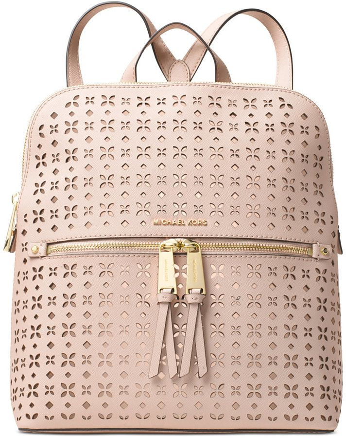 7c3c2a2cbf30 MICHAEL Michael Kors Rhea Zip Medium Slim Backpack