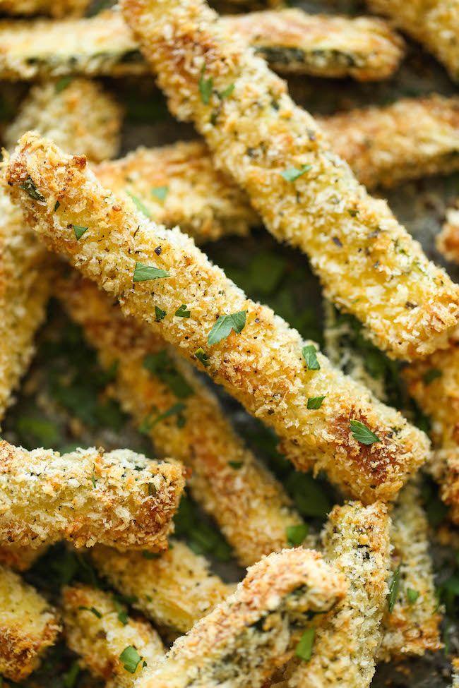 Probier das hier einmal aus Baked Zucchini Fries Es lässt sich - kochrezepte leichte küche