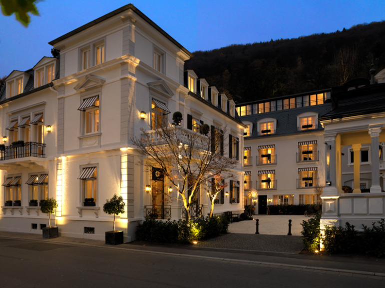 heidelberg suites michele bonan White exterior houses