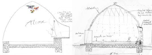 Anna Heringer sketches