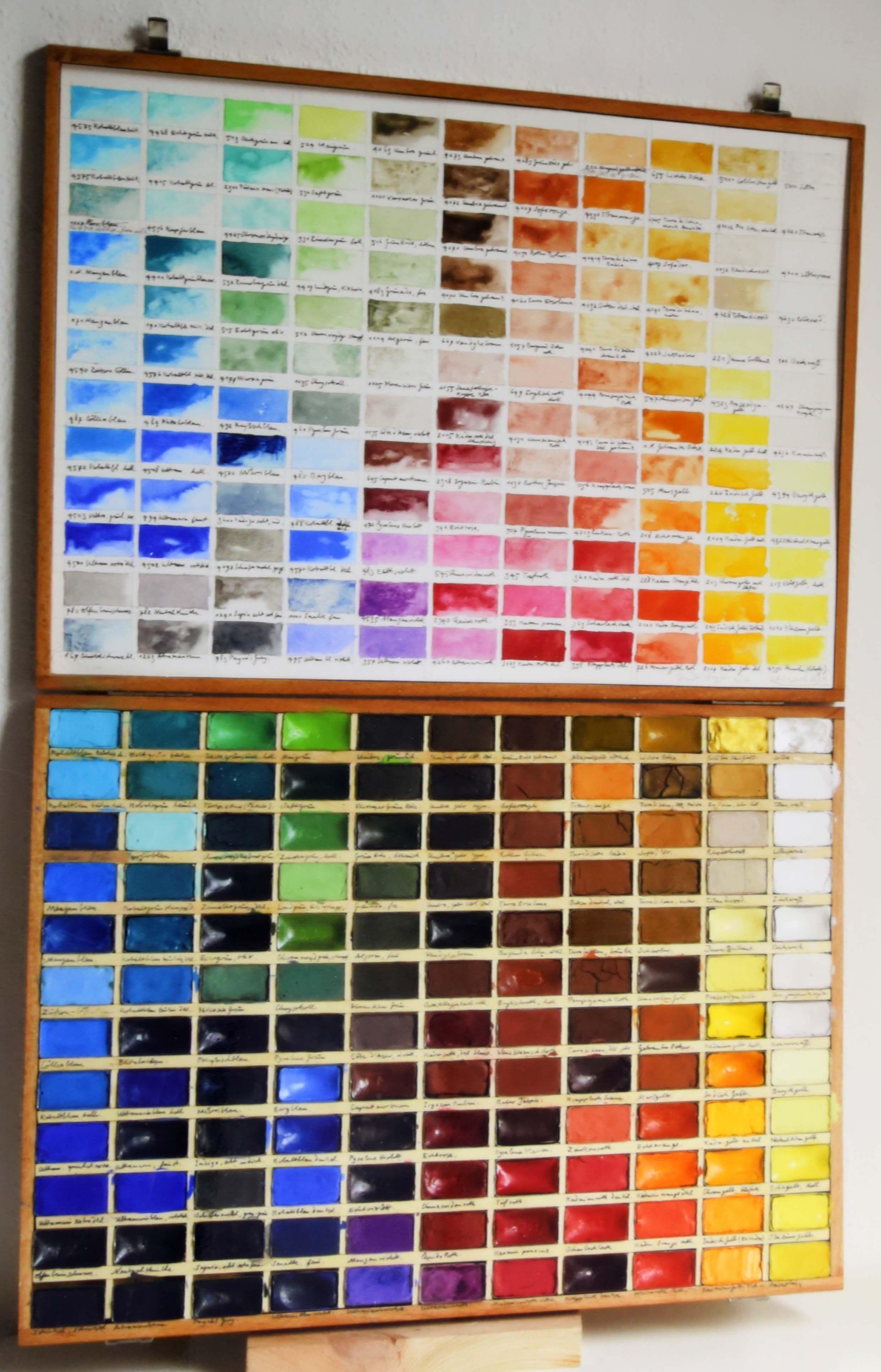 Malen Im Medium Der Reinen Farbe Kaum Eine Andere Maltechnik