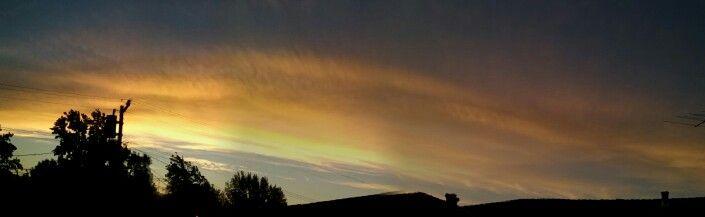 softball sunset 8/4/2015