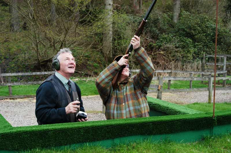 Sporting Activities On Roxburghe Estate Including Clay Pigeon Shooting