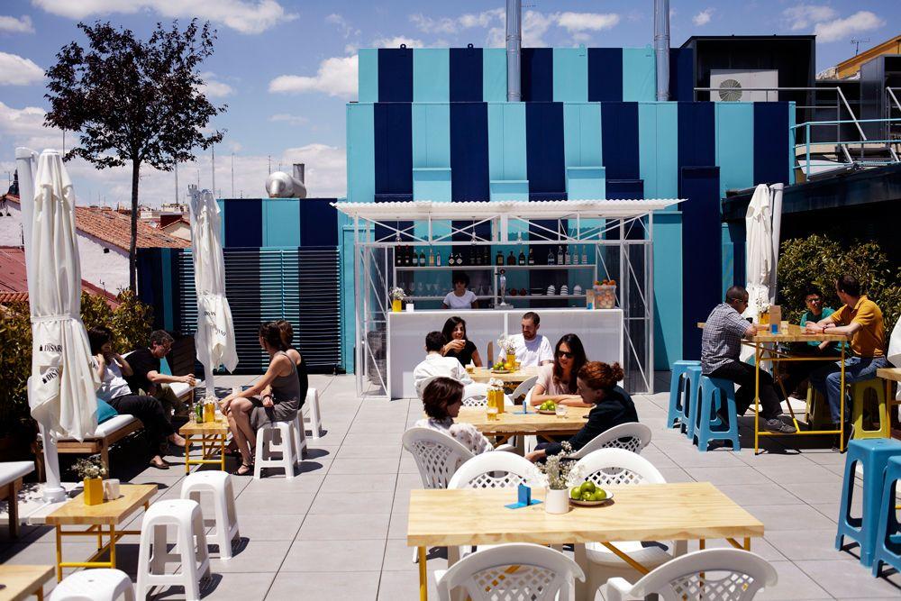 La Terraza Hotel Urban Terrazas Terrazas Madrid Y Casa